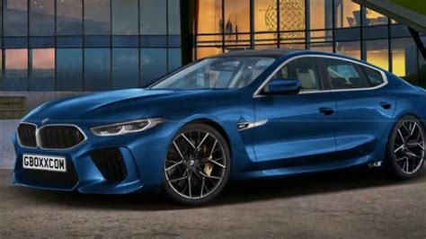 m8 gran coupe luck this 2019 bmw m8 gran coupe puts on a manufacturing prepared blue match