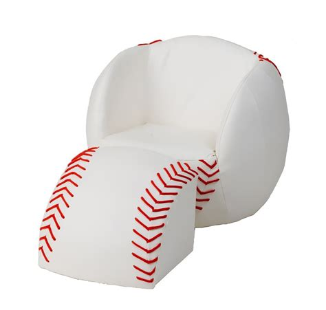 kids baseball chair and ottoman funky mitt hand chair something different funk this house