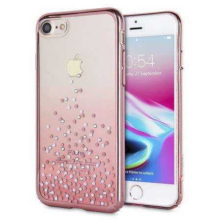rose gold unique glitter polka dot iphone case mobile