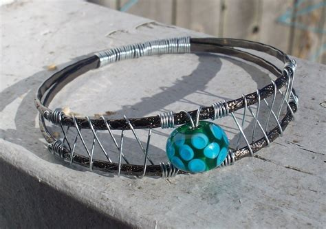 woven wire bangle bracelet 183 how to make a wire bracelet 183 jewelry and wirework on cut