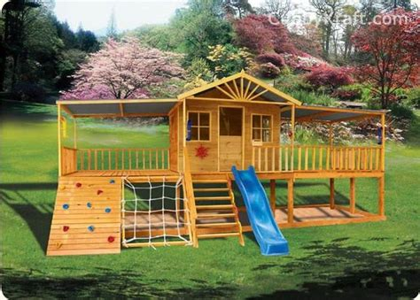 Health Tips And Exercises To Do With Kids On A Cubby House