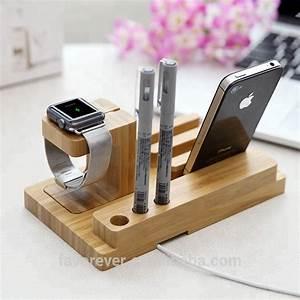 Ladestation Für Handy : holz ladestation docking ladestation f r iphone und handy ~ Watch28wear.com Haus und Dekorationen