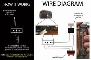 Diy Homemade Sony Alpha Wired Remote Wire Diagram