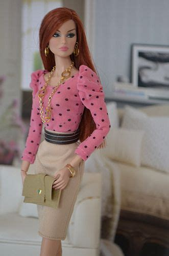 pink poesi veronique fashion royalty barbie dress