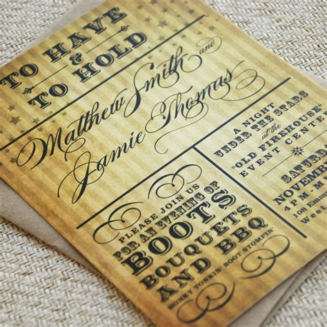 western wedding invitations wedding themes for 2015 the west the wedding specialists