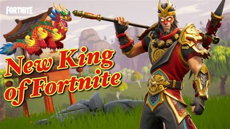 New King Of Fortnite- Fortnite Xbox Gameplay (new Wukong