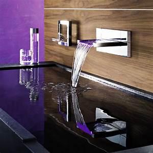 deco salle de bain robinetterie electrique et design With robinet design salle de bain
