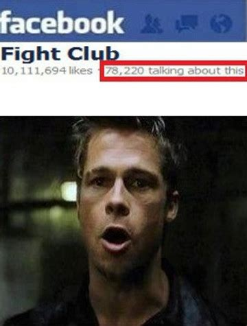 Fight Club Memes - what happened to the first two rules of fight club meme guy