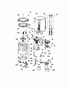 Tub Diagram  U0026 Parts List For Model Hlp21e Haier