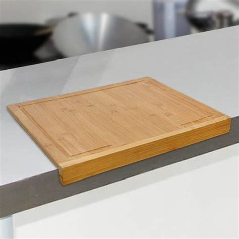 planche de travail cuisine planche à découper en bambou pour plan de travail achat