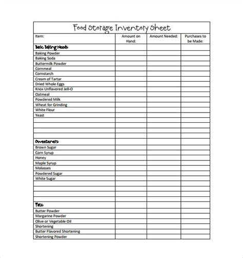 What should a great cover letter say? Food inventory template in MS Excel format | Spreadsheet template, Templates, Inventory ...
