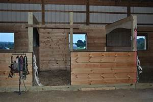 barn improvements part 2 custom arched horse stalls With build your own horse barn