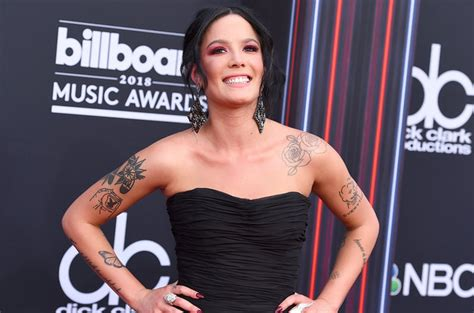 Upcoming100-halsey Unveils Without Me Single Cover Art