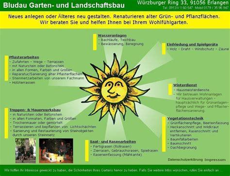 Garten Landschaftsbau Erlangen by Gartenbau Bludau