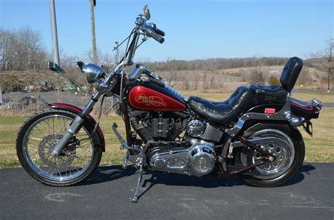 1987 Harley Davidson by 1987 Harley Davidson Fxstc Softail Custom Pics Specs And