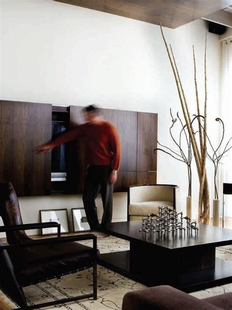 hidden tv wall cabinet homemydesign
