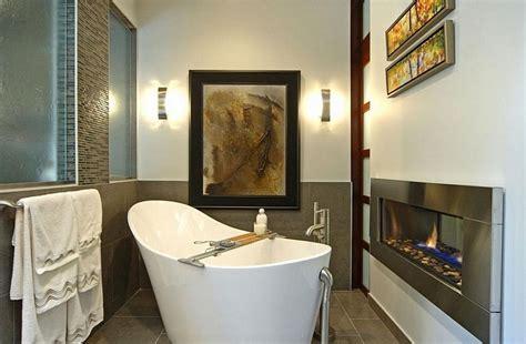 Beautiful Small Spa Bathroom Design With Stylish White