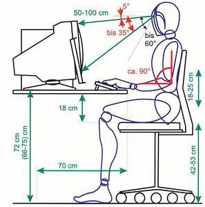 Schreibtischhöhe Berechnen : ergonomischer arbeitstisch ~ Themetempest.com Abrechnung