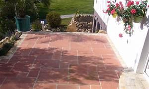 Naturstein Verfugen Mit Trasszement : sandstein rot terrassenplatten st rke 2 5 4 cm ~ Michelbontemps.com Haus und Dekorationen