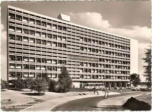 Le Corbusier Berlin : le corbusier haus berlin postkarte 1957 corbsier berlin ~ Heinz-duthel.com Haus und Dekorationen