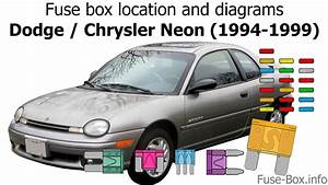 Fuse Box Location And Diagrams  Dodge    Chrysler Neon
