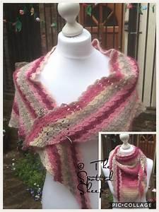 C2c Crochet Shawl In Louisa Harding Amitola From The