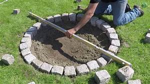 Feuerstellen Im Garten Selber Machen : granit feuerstelle selber bauen einfach und schnell diy youtube ~ Indierocktalk.com Haus und Dekorationen