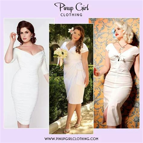 Pinup wedding dresses from pinup girl clothing