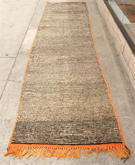 moroccan runner rug moroccan pile tribal rug runner at 1stdibs