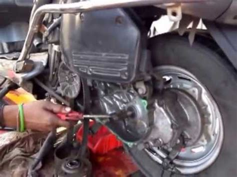 learning to repair the horn of a two wheeler ह