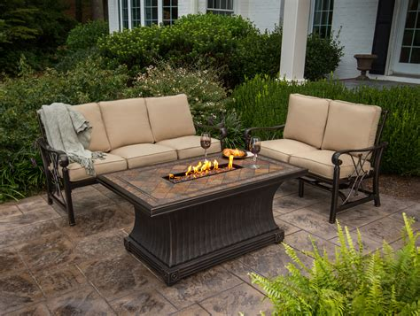 patio propane fire pit table geodesic dome house plans