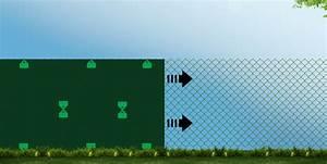 Comment Poser Un Brise Vue Sans Grillage : installer filet brise vent ou brise vue jardin couvert ~ Dailycaller-alerts.com Idées de Décoration