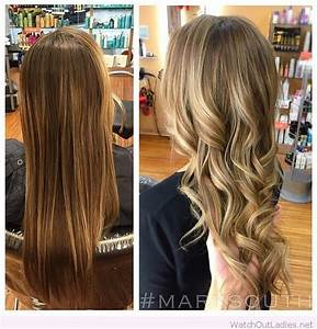 Amazing brown to blonde hair color before and after | Hair ...