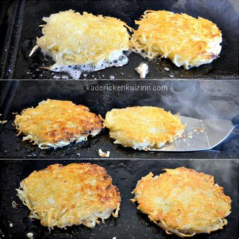 plancha rosti recette roestis pommes de terre  la plancha