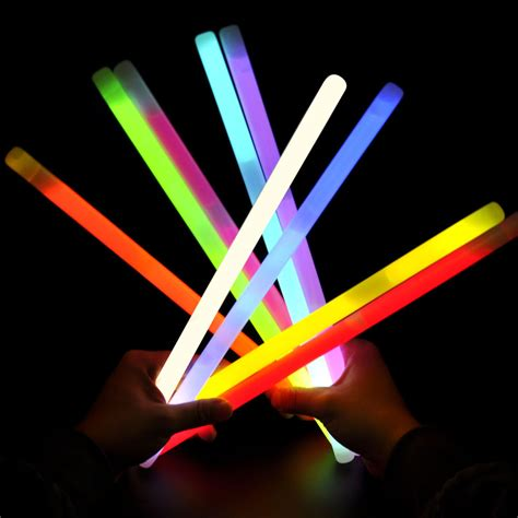 large neon stick christmas glow stick drumsticks flash