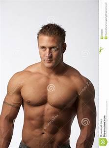 Image Homme Musclé : blanc de muscle d 39 homme photos libres de droits image 9568298 ~ Medecine-chirurgie-esthetiques.com Avis de Voitures