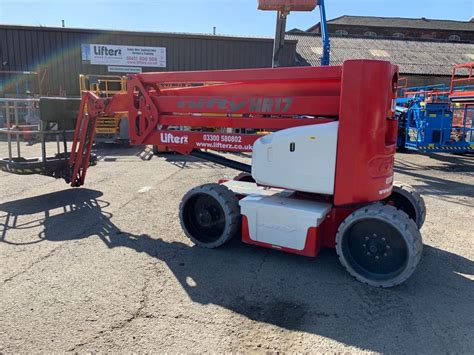 niftylift hr ne articulated boom lifts construction