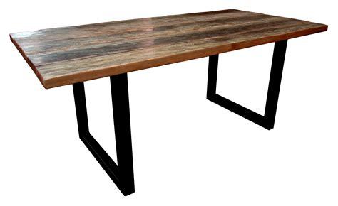 table cuisine bois brut table bois de fer brut pictures