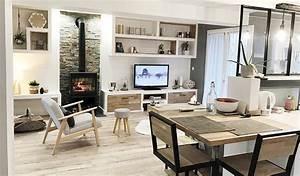 Idee Salon Scandinave : salon style scandinave industriel boutique gain de ~ Melissatoandfro.com Idées de Décoration