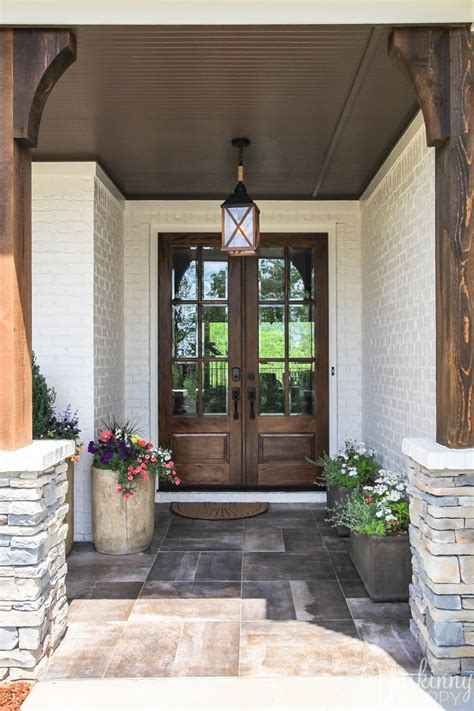 ideal home decorating ideas   double front doors