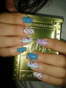 NAUTICAL NAILS!! - Nail Art Gallery Step-by-Step Tutorial ...