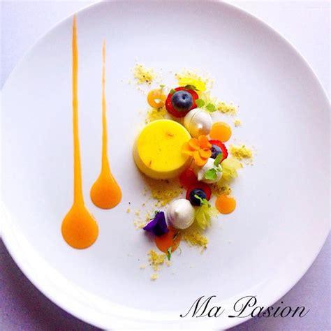 recette de cuisine gastronomique une assiette colorée cuisine gastronomique recette