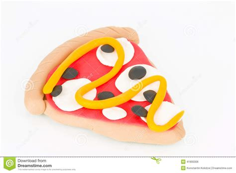 pizza de p 226 te 224 modeler photo stock image 41900306