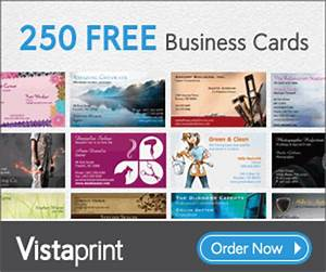 301 moved permanently for Free vista business cards
