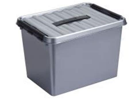 Boite Plastique Avec Couvercle Boite Plastique Opaque Gris Empilable Avec Couvercle Poign 233 E
