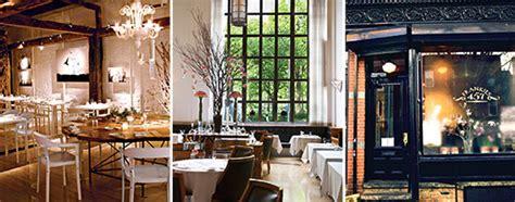 york wedding guide  reception restaurants