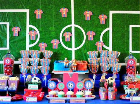 karos fun land barcelona soccer themed birthday party