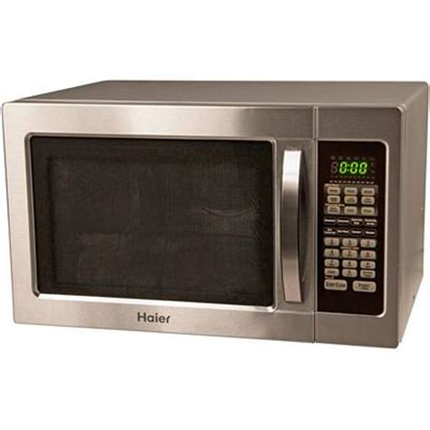 countertop microwave convection oven haier mwm10100gcss 1000 watt countertop stainless steel