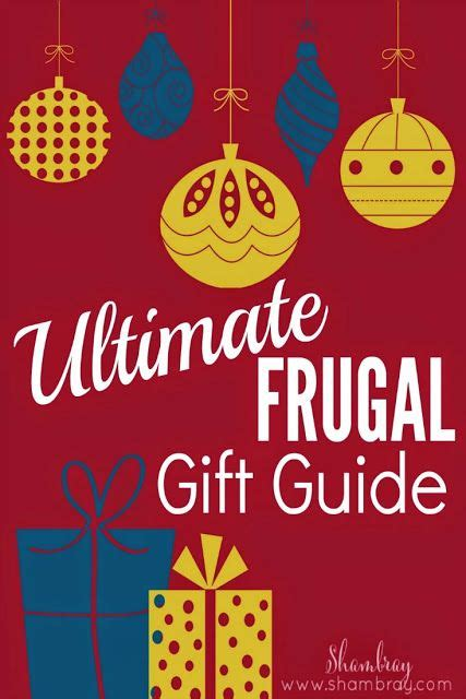 pininterest frugal friendship the ultimate frugal gift guide ogt friends gifts