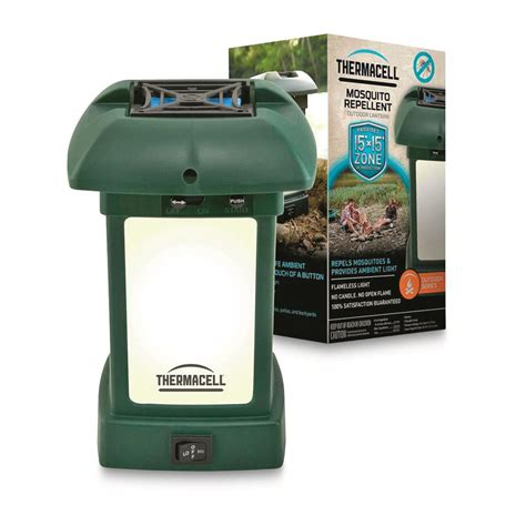 20 thermacell mosquito repellent outdoor led lantern